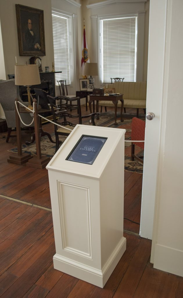 Interactive museum audio kiosk