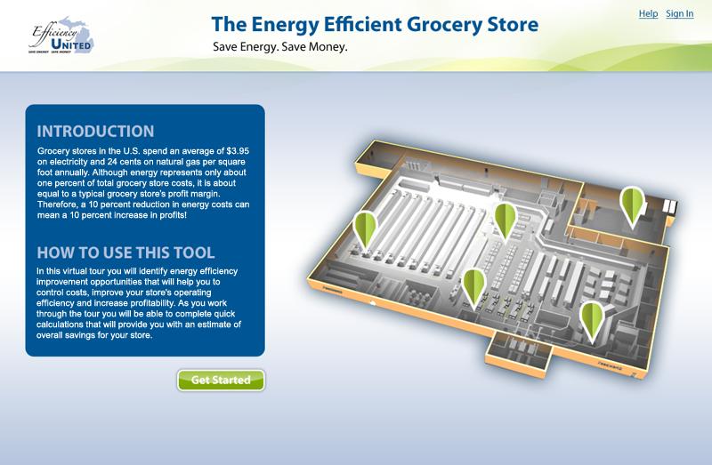 Energy efficiency calculator app