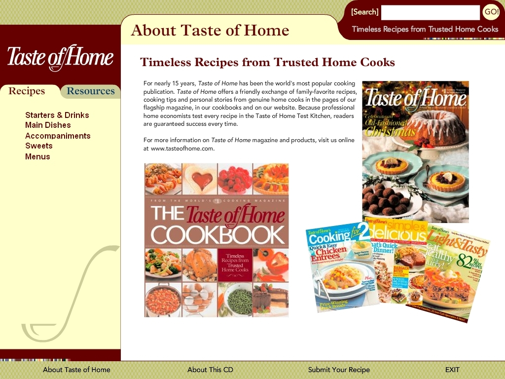 Interactive Cookbook App